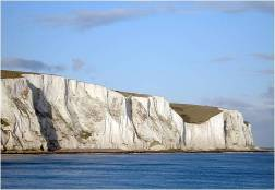 The White Cliffs of Dover: created by coccolithophores.